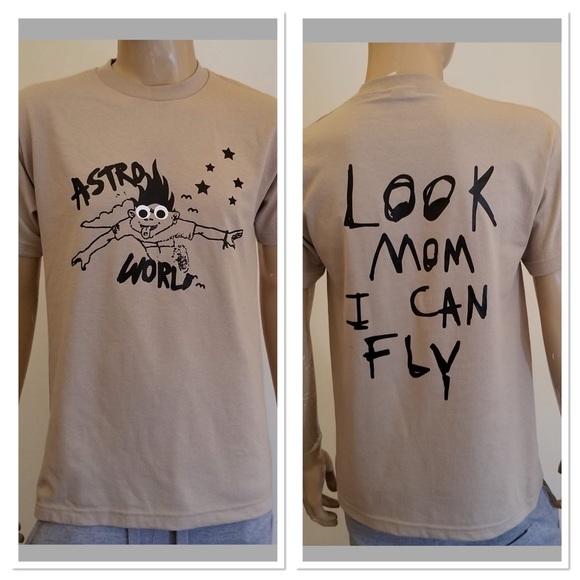 b13a19ad8e21 Shirts | Travis Scott Astroworld Tee Look Mom I Can Fly | Poshmark